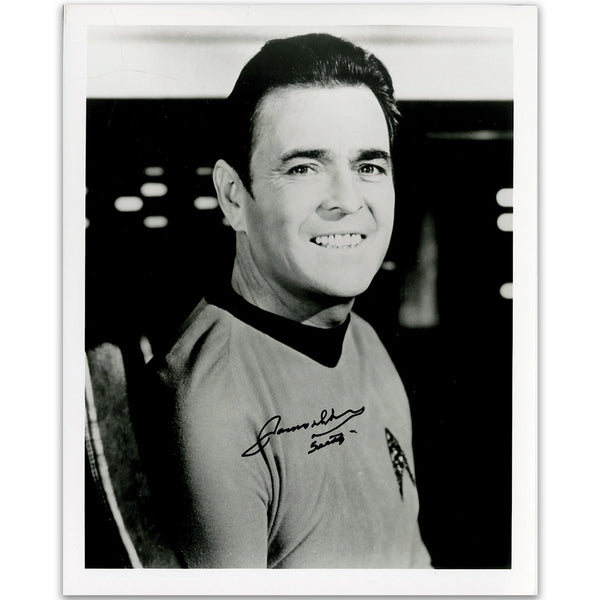James Doohan as Chief Engineer Scott Photo Personally Signed