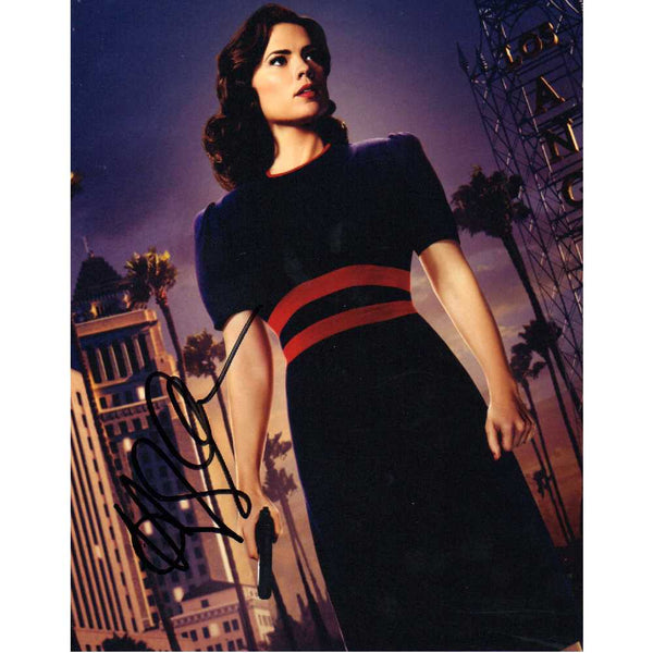 Hayley Atwell as Agent Carter Colour  Photo Personaly Signed