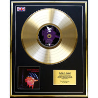 Black Sabbath Paranoid Framed & Mounted Gold Disc Ltd Edition of only 50