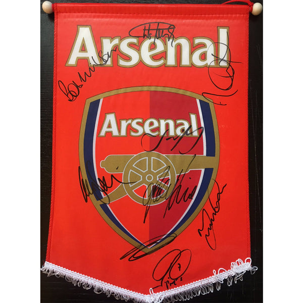 Arsenal FC Legends Personally Signed Pennant