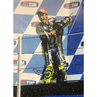 Valentino Rossi Large 16x12 Action Photo Personally Signed