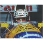Nigel Mansell Mounted Colour Action Photo Personally Signed