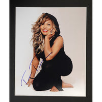 Tina Turner Mounted Colour Photo Personally Signed. This item was signed in person and by hand and was supplied by one of the UK's most respected music memorabilia dealers and a member of both AFTAL & UACC (the most prestigious two trade dealer associations in the World). Comes supplied with a Certificate of Authenticity and a Lifetime Guarantee.