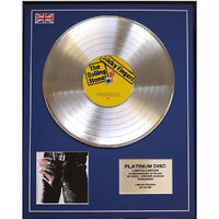 The Rolling Stones- Sticky Fingers Framed & Mounted Gold Disc Limited Edition of 50 only