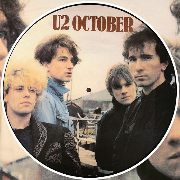 U2 - October Rare Promotional  Photo Picture Disc Vinyl LP Album