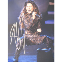 Shania Twain Mounted Colour Photo Personally Signed. This item was signed in person and by hand and was supplied by one of the UK's most respected music memorabilia dealers and a member of both AFTAL & UACC (the most prestigious two trade dealer associations in the World). Comes supplied with a Certificate of Authenticity and a Lifetime Guarantee.