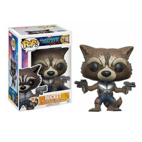 POP! Marvel: Guardians of the Galaxy  Vol 2 - Rocket Bobblehead