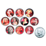 Marilyn Monroe Framed & Mounted Rare Colorised Genuine Coins