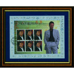 Sir Cliff Richard 40 Years of Hit Records Framed Collectors Celebration Stamp First Day Cover