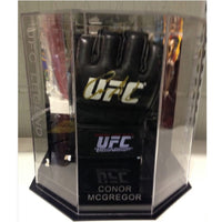 Connor McGregor Personally Signed UFC Glove in Special Octagonal Display Case