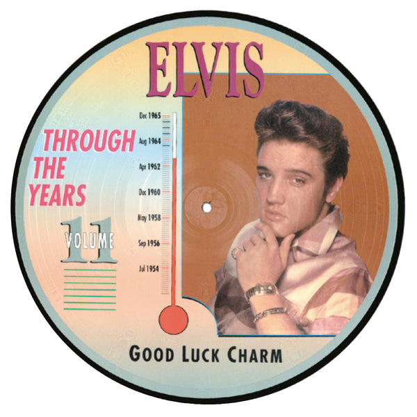"Elvis Through the Years - Volume 11, 1954-1956, Good Luck Charm' original 12"" LP."
