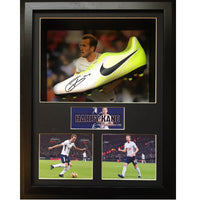 Harry Kane Framed & Mounted Photo & Personally Signed Football Boot Display