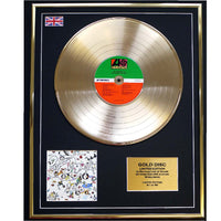 Led Zeppelin III Framed & Mounted Gold Disc Limited Edition of 50 only Worldwide