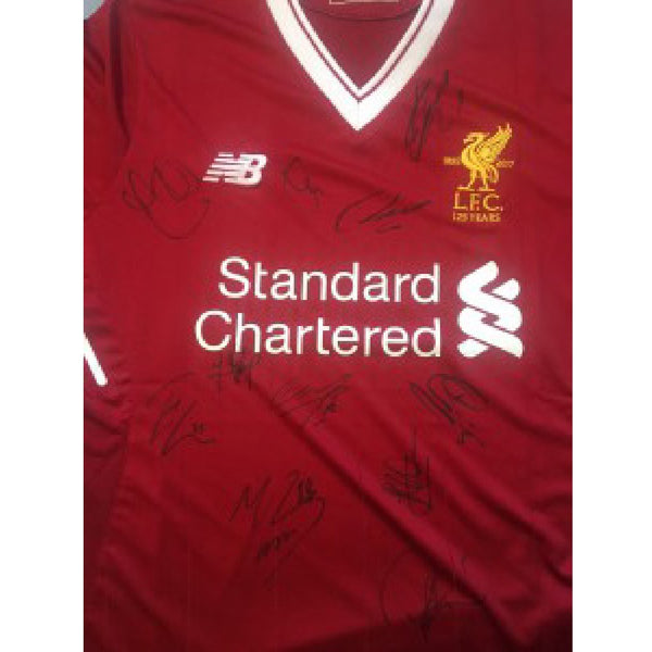 Liverpool FC Football Shirt Multi Signed