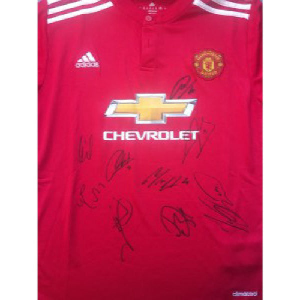 Manchester United FC Football Shirt Multi Signed