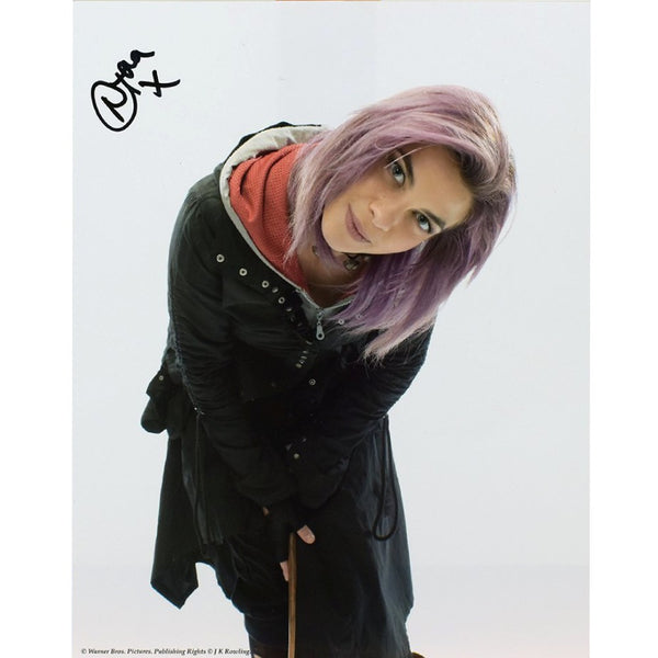 Natalia Tena as Nymphadora Tonks Mounted colour Photo Personally Signed