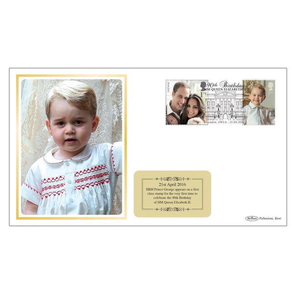 Prince George Celebration First Day Cover