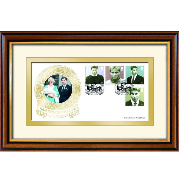 Prince William 21st Birthday Framed Celebration Cover