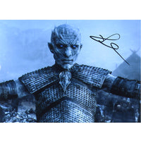 Richard Brake as The Night King  Mounted Personally Signed Photo