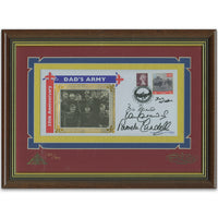 Dad's Army Multi Signed Cover Framed