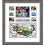 Thunderbirds - Collectors Stamps and Cover Signed by Gerry Anderson