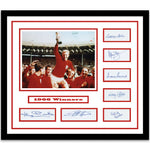 1966 World Cup Winners Signed Framed Collectable
