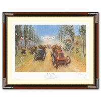 The Grand Brie Limited edition print signed by Terence Cuneo
