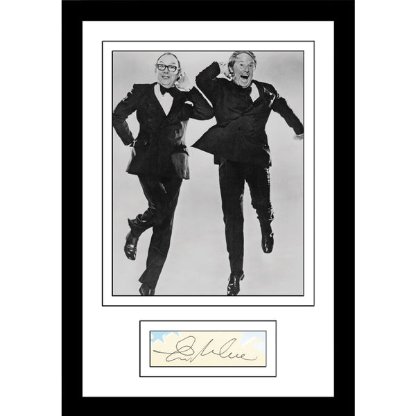 Morecambe And Wise Classic Photo- Personally Signed by Ernie Wise