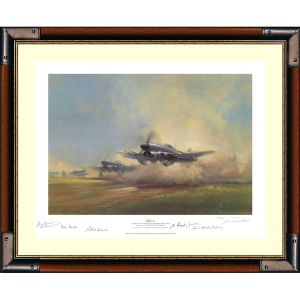 Typhoon - Framed limited edition signed print.