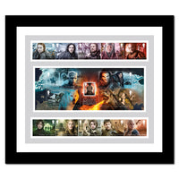 Game of Thrones Stamps & M/S Framed Edition