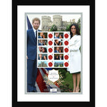 Royal Wedding Harry & Meghan Customised Stamp Sheet