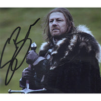 Sean Bean as Eddard 'Ned' Stark  Mounted Personally Signed Photo