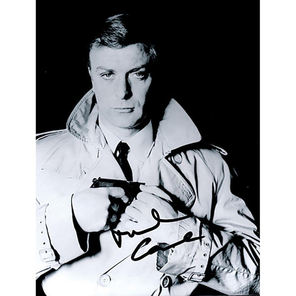 Michael Caine Classic Film Photo Personally Signed