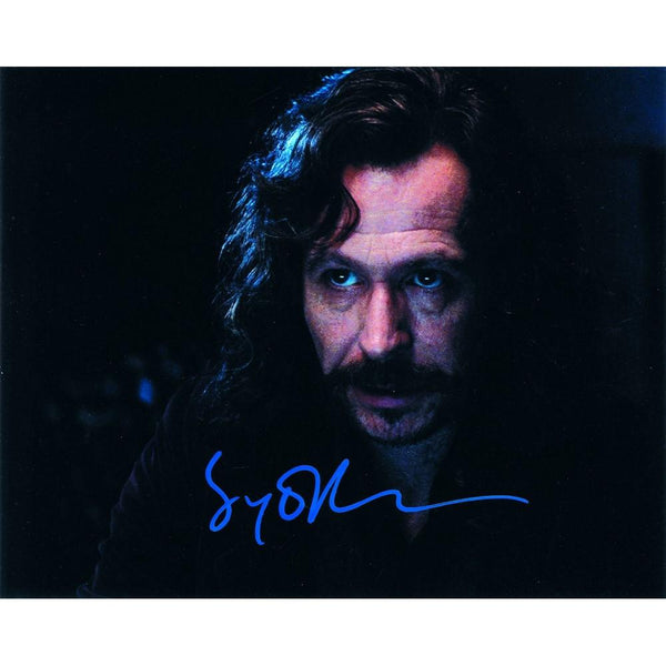 Signed colour photograph of Gary Oldman as Sirius Black.