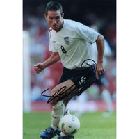 Signed colour photograph of Frank Lampard