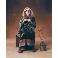 Signed colour photograph of Emma Thomson as Professor Trelawney.
