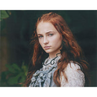 Colour Photograph signed by Sophie Turner