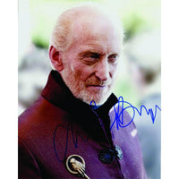 Photograph signed by Charles Dance