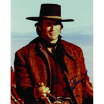 Clint Eastwood signed colour photograph.