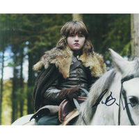 Colour photograph signed by Isaac Hempstead-Wright
