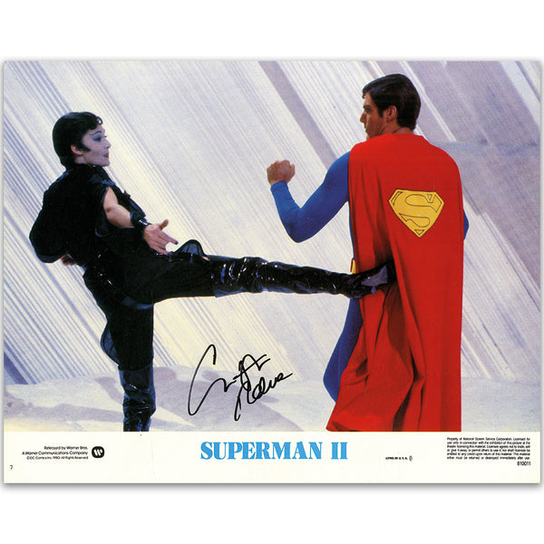 Christopher Reeve Autograph - Superman II