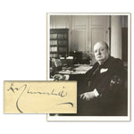 Winston Churchill Signature