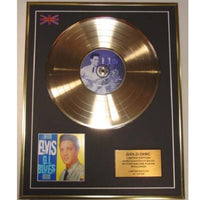 Elvis Presley ' GI Blues' Framed & Mounted Gold Disc Ltd Edition