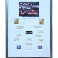 England 1966 World Cup Champions Photograph Signed by all the Players