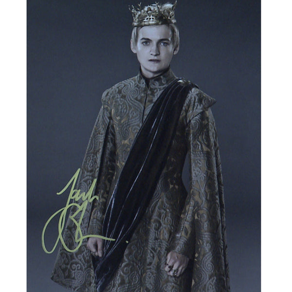 Jack Gleeson as Joffroy Baratheon Mounted Personally Signed Photo