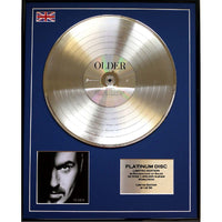 George Michael- Older Framed & Mounted Gold Disc Ltd Edition of 50 Only