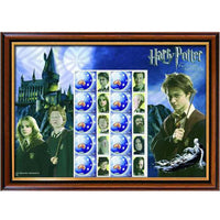 Harry Potter Australian Sheet Framed