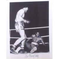 Sir Henry Cooper - Mounted Personally Signed Photograph