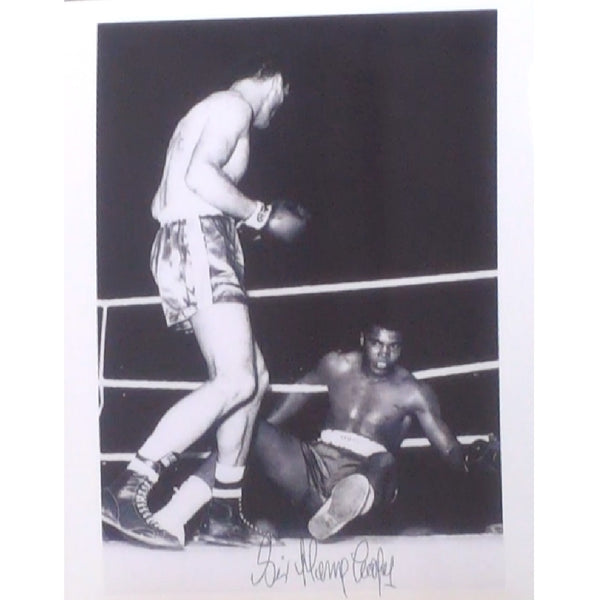 Sir Henry Cooper Mounted Personally Signed Photograph
