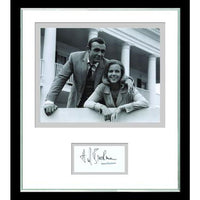 Honor Blackman Mounted Bond Photo & Personal Signature